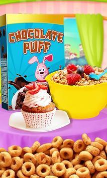 Cereal Maker Kids Cooking Game poster
