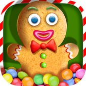 Christmas Cookie: Crazy Bakery icon