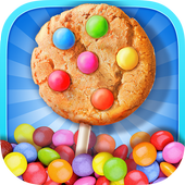 Cookie Pop Maker - Cooking Fun icon