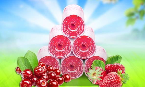 Fruity Roll Up - Food Maker poster