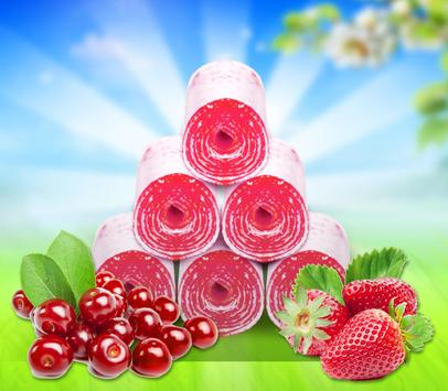 Fruity Roll Up - Food Maker screenshot 4