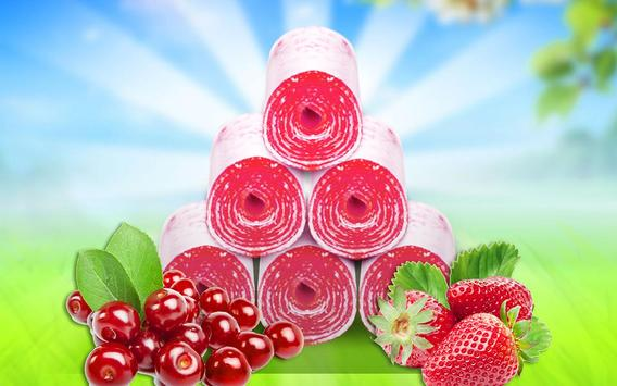 Fruity Roll Up - Food Maker screenshot 8