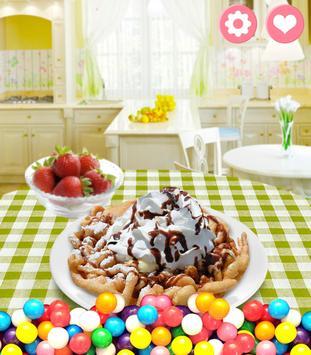 Funnel Cake Maker! Food Game screenshot 4