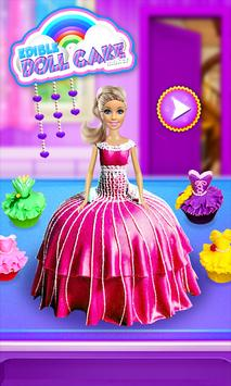 Princess Doll Cake Maker - DIY Cooking Kids poster