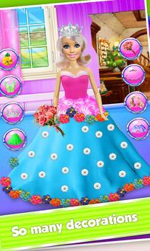 Princess Doll Cake Maker - DIY Cooking Kids screenshot 4