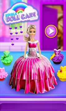 Princess Doll Cake Maker - DIY Cooking Kids screenshot 5