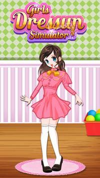 Girls Dressup Simulator poster