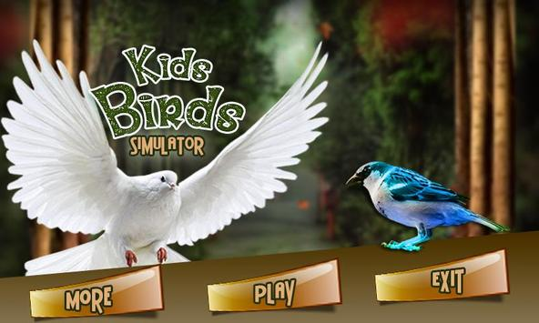 Kids Birds Simulator poster