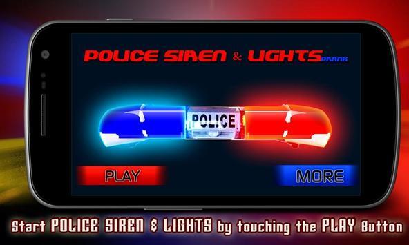Police Siren & Lights Prank poster