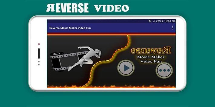 Reverse Movie Maker & Video Fun poster