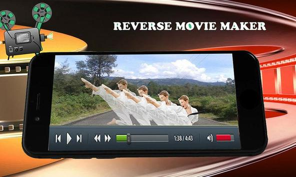 Reverse Movie Maker & Video Fun screenshot 1
