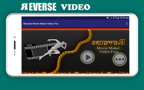Reverse Movie Maker & Video Fun screenshot 4