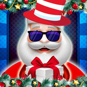 Santa's Christmas makeover icon