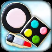 Princess Makeup Cookies maker! Girls Cooking Game icon