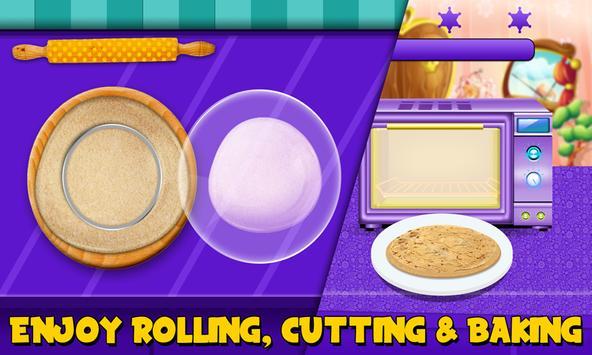 Princess Makeup Cookies maker! Girls Cooking Game apk screenshot