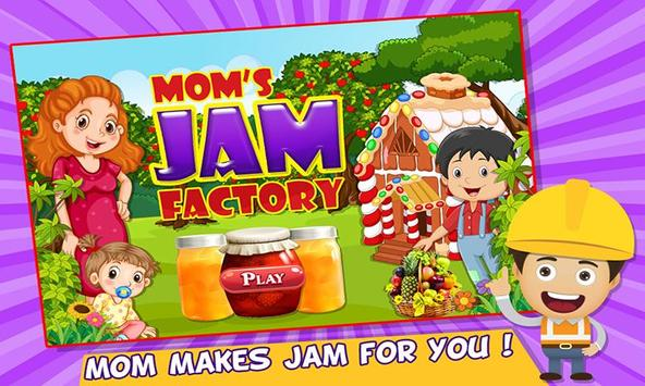 Moms Jam Factory cooking chef poster