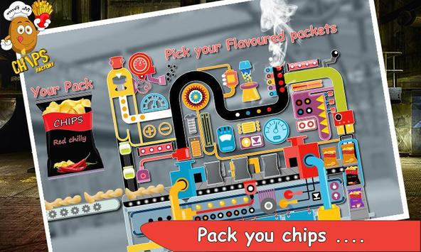 Potato Fries & Chips Factory screenshot 1