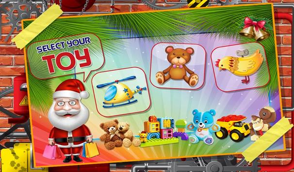 Santa's Christmas Toys Factory apk screenshot