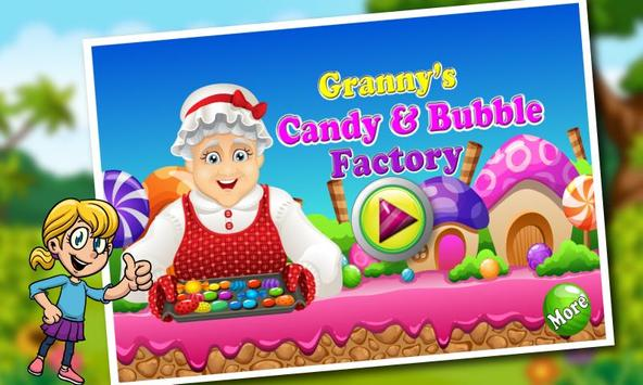 Granny's Gum & Candy factory poster