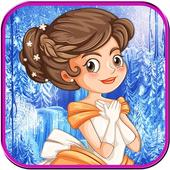 Icy princess makeover salon icon