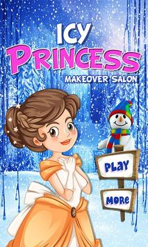 Icy princess makeover salon poster