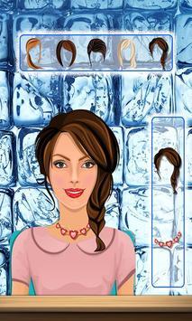 Icy princess makeover salon screenshot 5