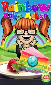 Rainbow Cake Maker poster