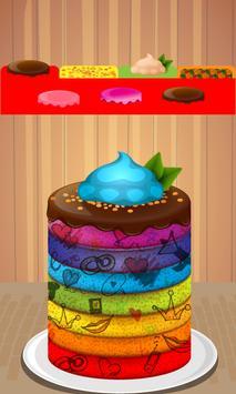 Rainbow Cake Maker screenshot 4