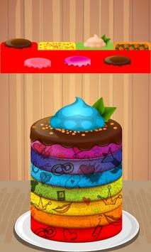 Rainbow Cake Maker screenshot 6