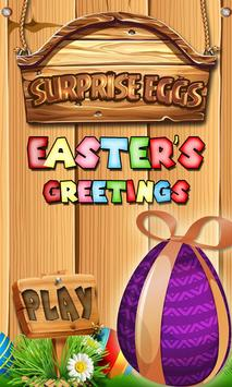3D Surprise Eggs Easter Toys poster