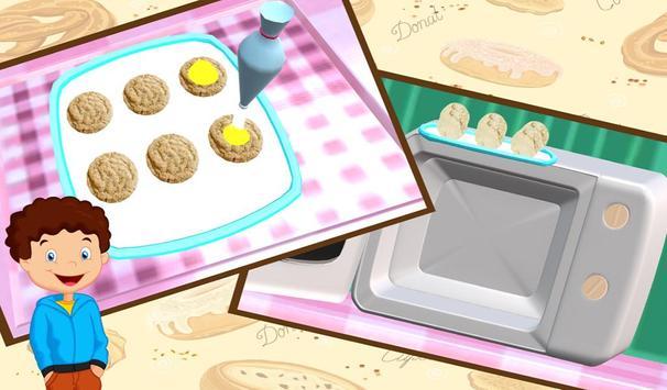 Sweet Cookies Maker 3D cooking apk screenshot
