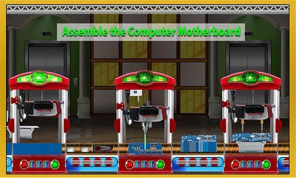Computer Assembling Factory poster