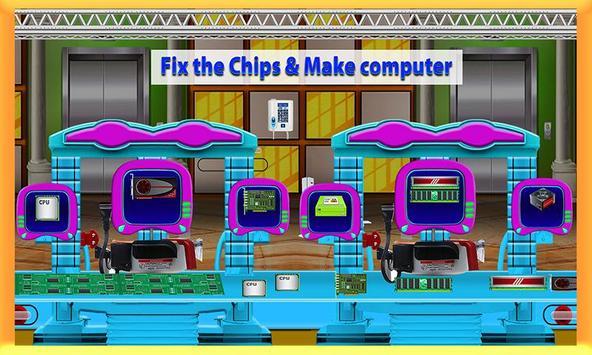 Computer Assembling Factory screenshot 1