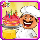 Cheese Cake Cooking Game icon
