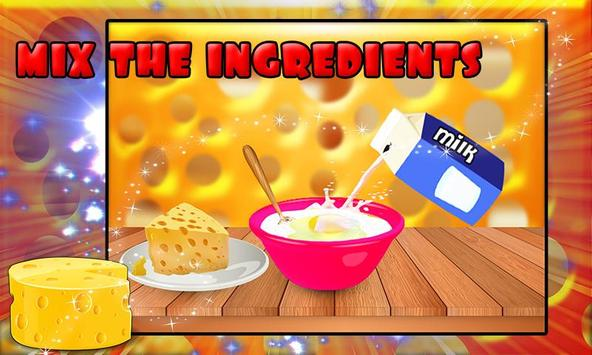 Cheese Cake Cooking Game poster