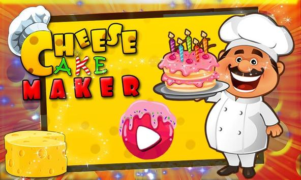 Cheese Cake Cooking Game screenshot 3