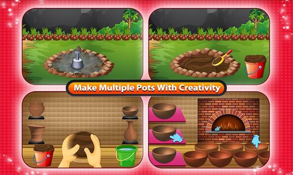 Create the Pottery & Maker poster