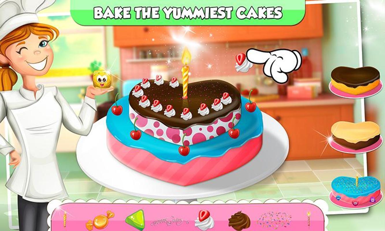 Bakery Cake Factory Empire Birthday Cooking Game Screenshot 7