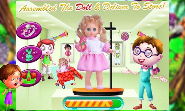 Doll Factory – Cute Toy Making & Builder Games Sim screenshot 2