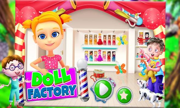 Doll Factory – Cute Toy Making & Builder Games Sim screenshot 3