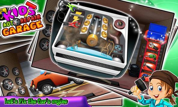 Auto Car Mechanic Garage poster