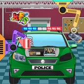 Police Car Factory icon