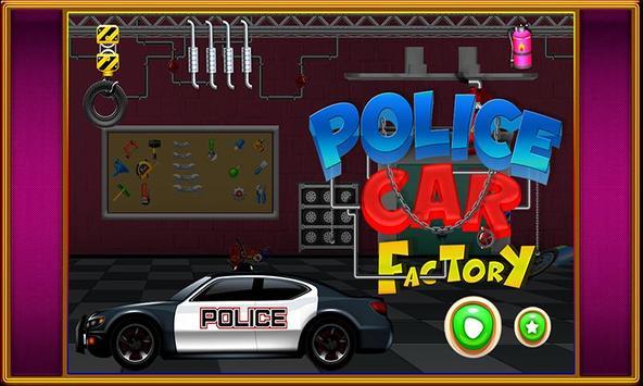 Police Car Factory screenshot 4