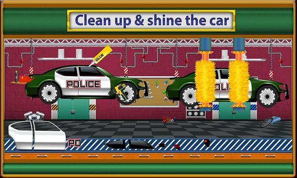 Police Car Factory screenshot 2