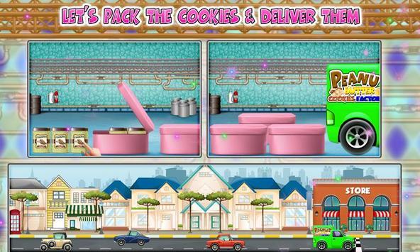 Peanut Butter Cookies Factory screenshot 2