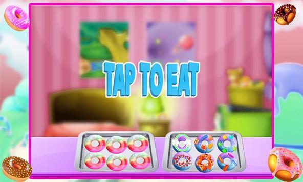 Rainbow Donuts Makers - Baking screenshot 2