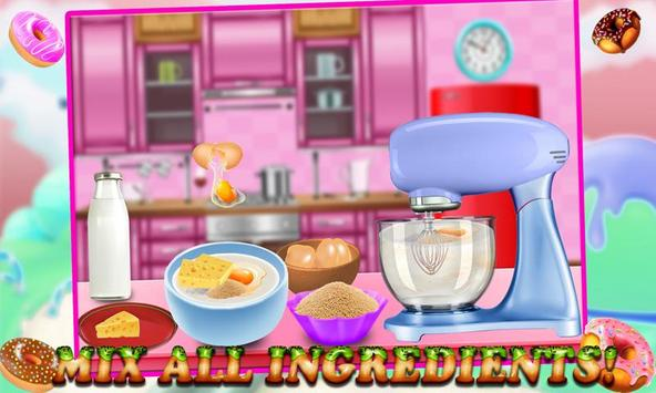 Rainbow Donuts Makers - Baking screenshot 4