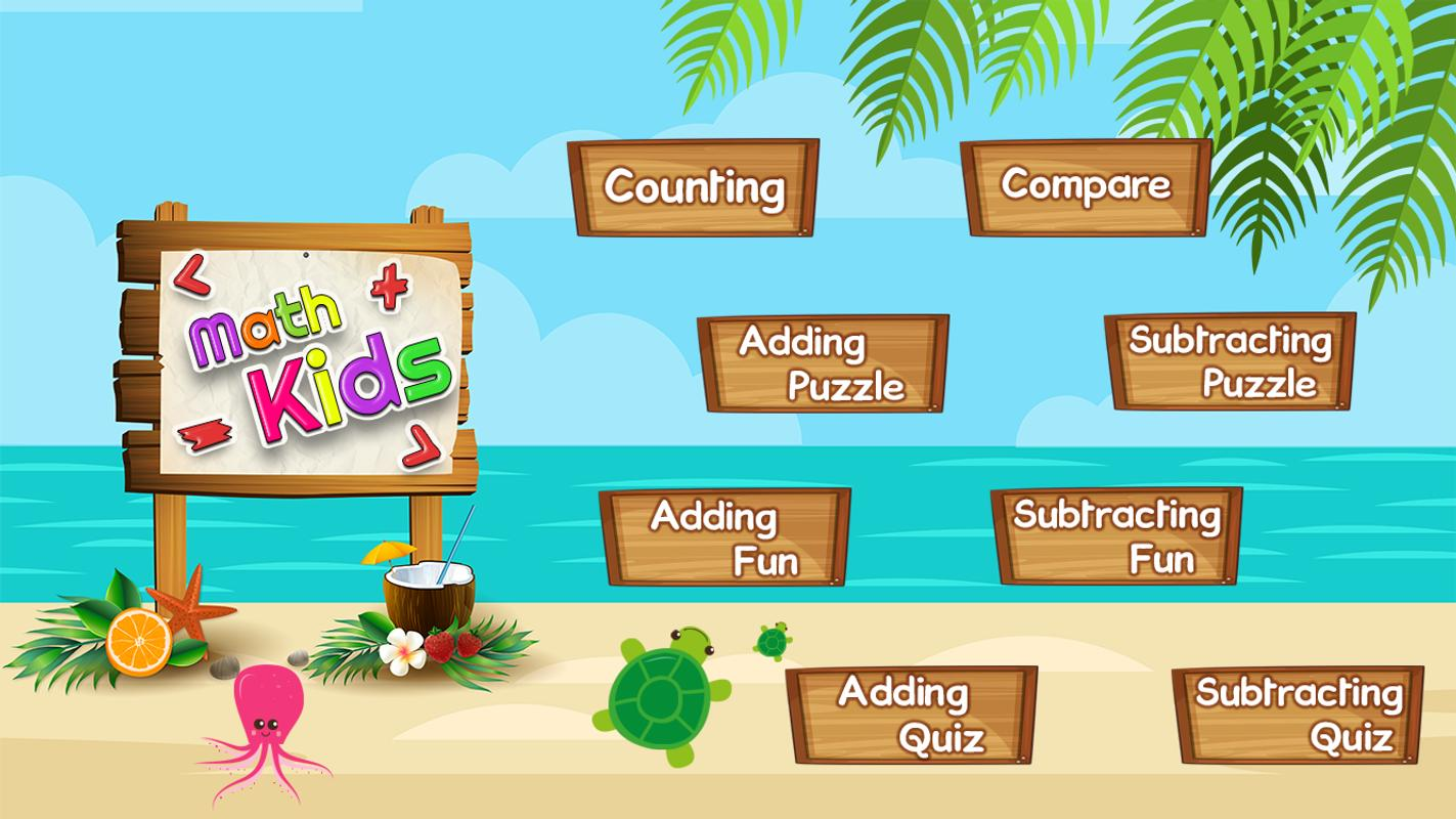 Math Kids - Add, Subtract, Count, and Learn APK Download - Free ...