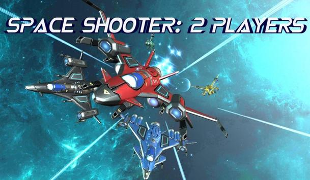 Space Shooter : 2 Players screenshot 1