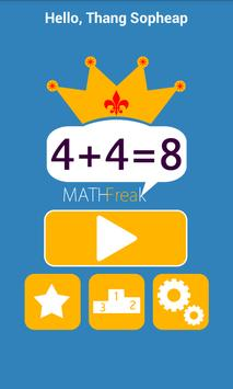 Math Freak apk screenshot